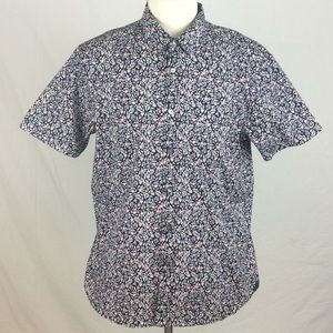 Ted Baker Floral Short Sleeve Button Down